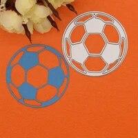 football metal crafts cutting dies stencils sports game embossing craft diy paper cards diy scrapbooking decor