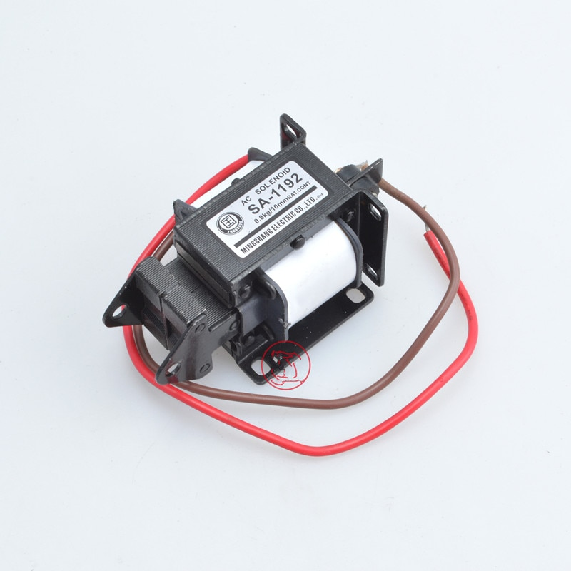 Aimant de levage/traction   1 pièce AC 110V /220V 10mm 0.8kg Type traction, aimant de levage, électroaimant actionneur,