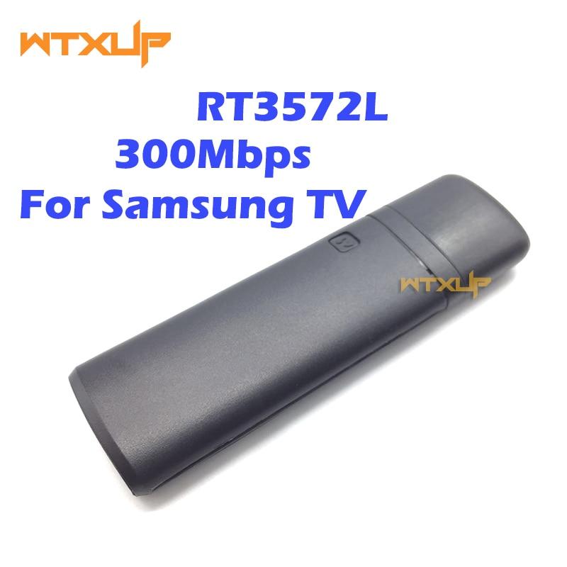 Ralink rt3572 banda dupla 300 mbps sem fio usb para samsung smark tv wi fi lan adaptador wlan placa de rede windows 7/8/10
