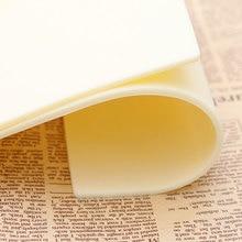 Top vente 10 pièces/5 pièces maquillage Permanent sourcil lèvres 20x15 cm blanc tatouage pratique peau feuille pour aiguille Machine approvisionnement Kit
