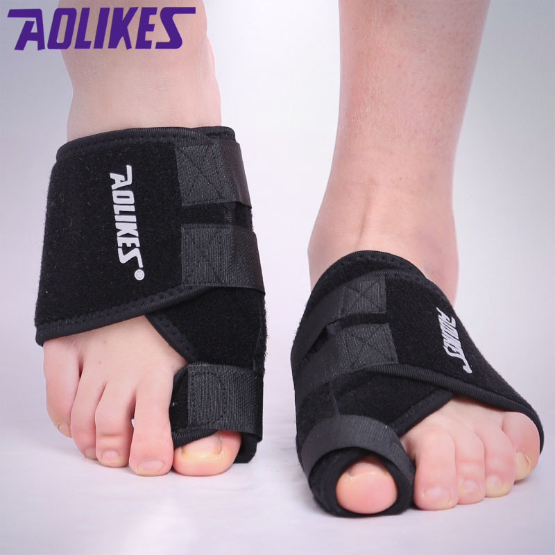 1 PCS Macio Big Toe Joanete Splint Straightener Corrector Foot Pain Relief Cuidados Com Os Pés Polegar Esportes Proteção Toe Fixo