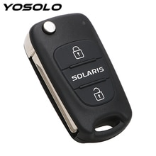 Remote 3 Buttons Flip Folding Blank Key Car-styling Replacement Car Key Shell Key Fob Case Car Acces
