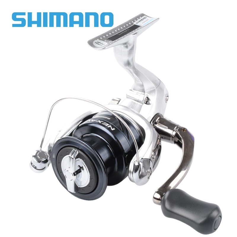 SHIMANO NEXAVE بكرة صيد دوارة 1000 2500 C3000 4000 6000 8000 نسبة التروس 4.9: 1/5. 0:1 3 + 1BB بكرات صيد سمك الشبوط في المياه المالحة