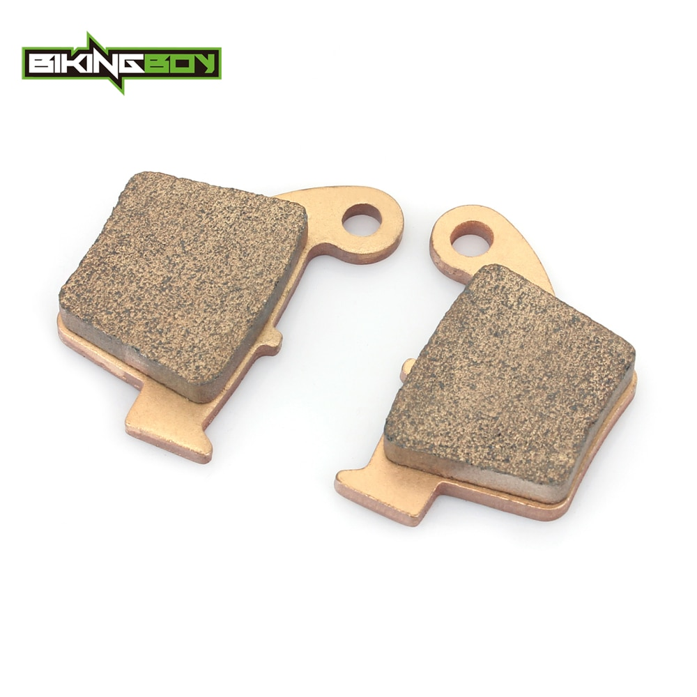 BIKINGBOY Rear Brake Pads CRF 250 450 R X 05-11 10 CR 125 250 500 R CRE 50 125 230 250 450 490 CRM 125 250 450 490 X Supermoto