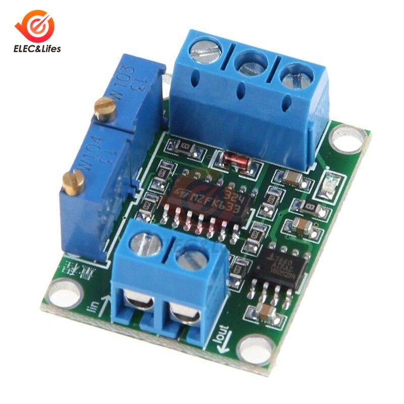 Módulo ajustável do transmissor da tensão de 0-3.3 v 0-5 v 5 v 10 v módulo 4-20ma do conversor do sinal da corrente à tensão