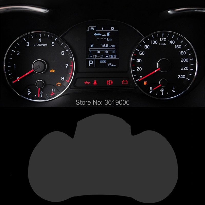 TOMMIA Voor KIA K3 13-17 Screen Protector HD 4H Dashboard Bescherming Film Anti-krassen Auto Sticker