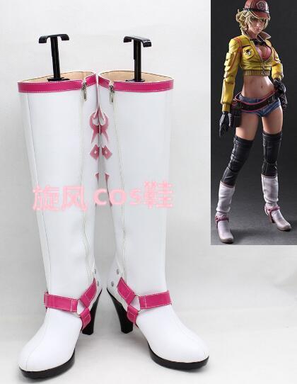 Nuevo Final Fantasy XV Cindy Aurum calzado de anime para Cosplay botas de alta calidad hecha a medida