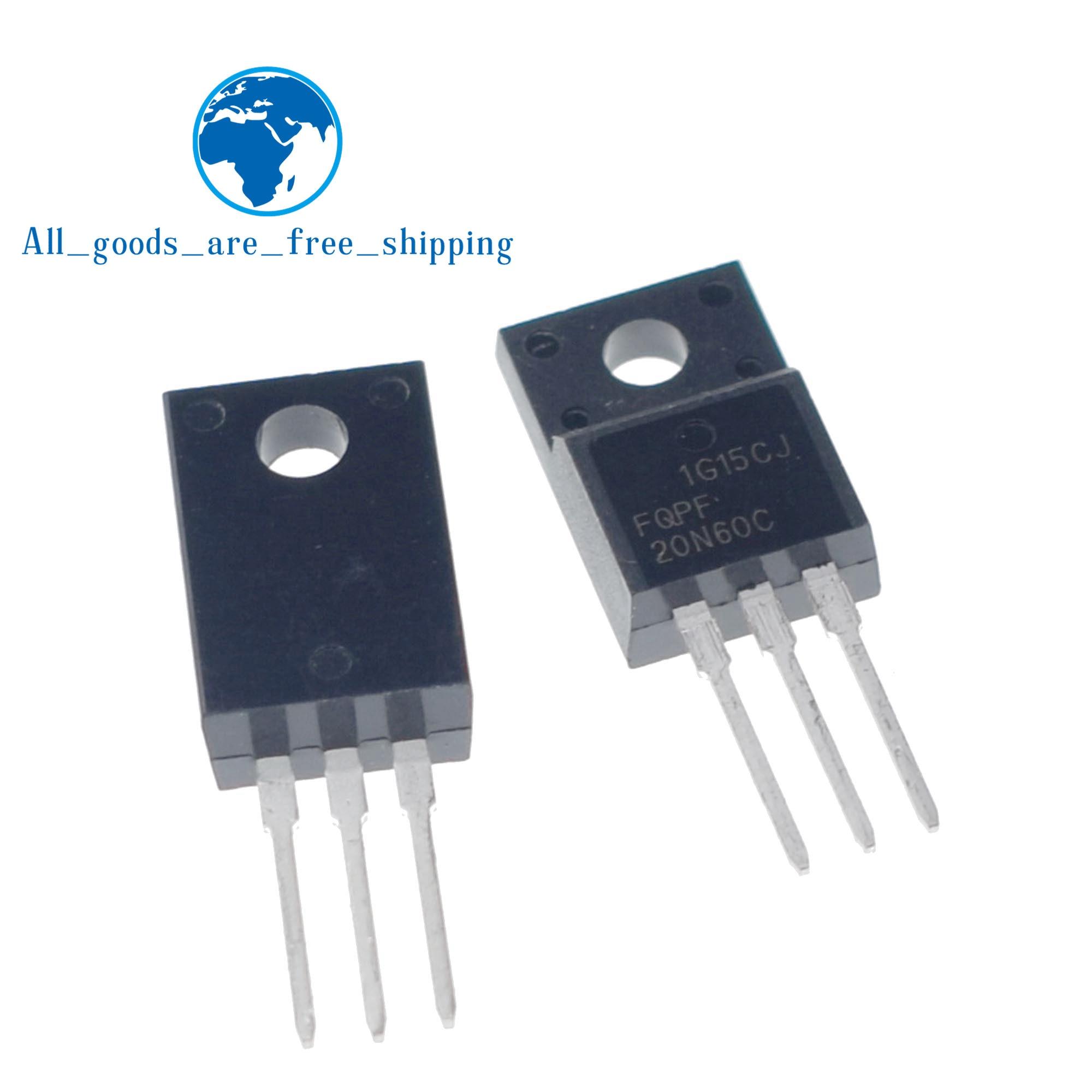 10PCS 20N60 FQPF20N60C FQPF20N60 600V 20A LCD power FET 100% new original quality assurance