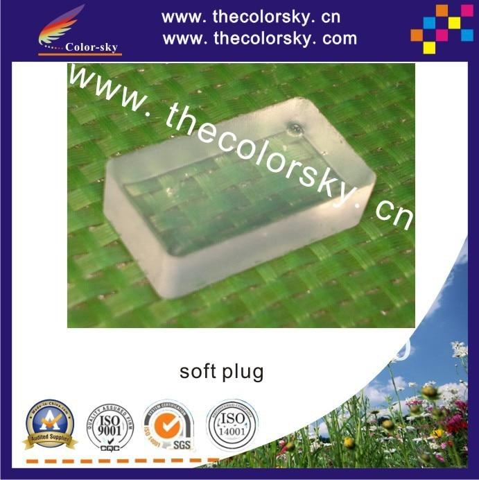 (SSZF) Almohadilla de sellado de silicona muy suave para HP para Canon para cartuchos de tinta de Lexmark con sello táctil de cabezal de impresión envío gratis por dhl