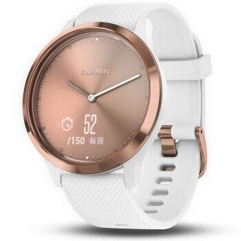 High Quality Rose Gold Dial Watch Garmin vivomove HR Men  Waterproof Wristwatch Women Dress Fashion sports watches