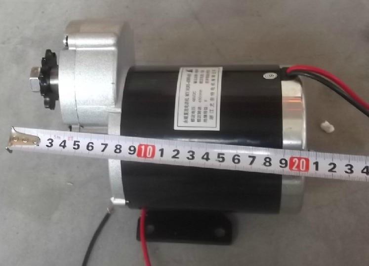 600w 36v 48v motor da engrenagem triciclo eletrico do motor da escova motor escovado