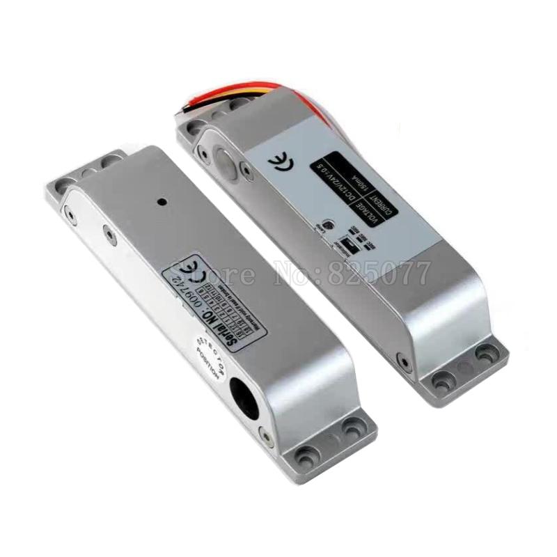 Электрический Болт с 4 проводами, 12 В, постоянный ток, с датчиком состояния двери, точкой выхода и таймером, блокировка капельного болта, безо...