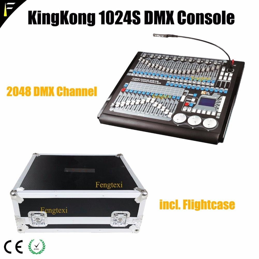 Kingkong 1024s-controlador de grabación de gatillo MIDI, controlador de sonido y luz...
