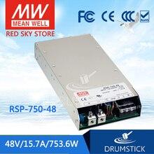 OFERTA ESPECIAL MEAN WELL RSP-750-48 48V RSP-750 a meanwell 753,6 48V W fuente de alimentación de salida única