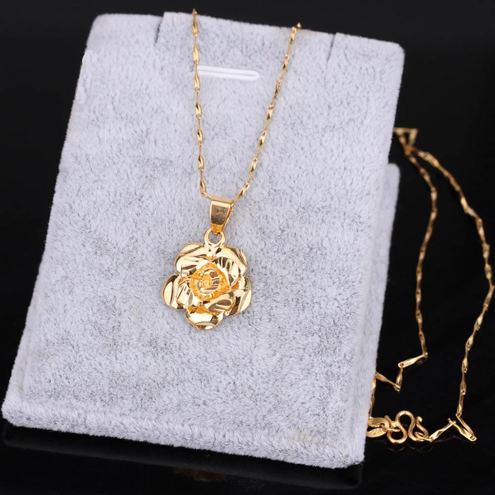 Женское Ожерелье-чокер St.kunkka, ажурное ожерелье с цветами, 24 К, желтое золото