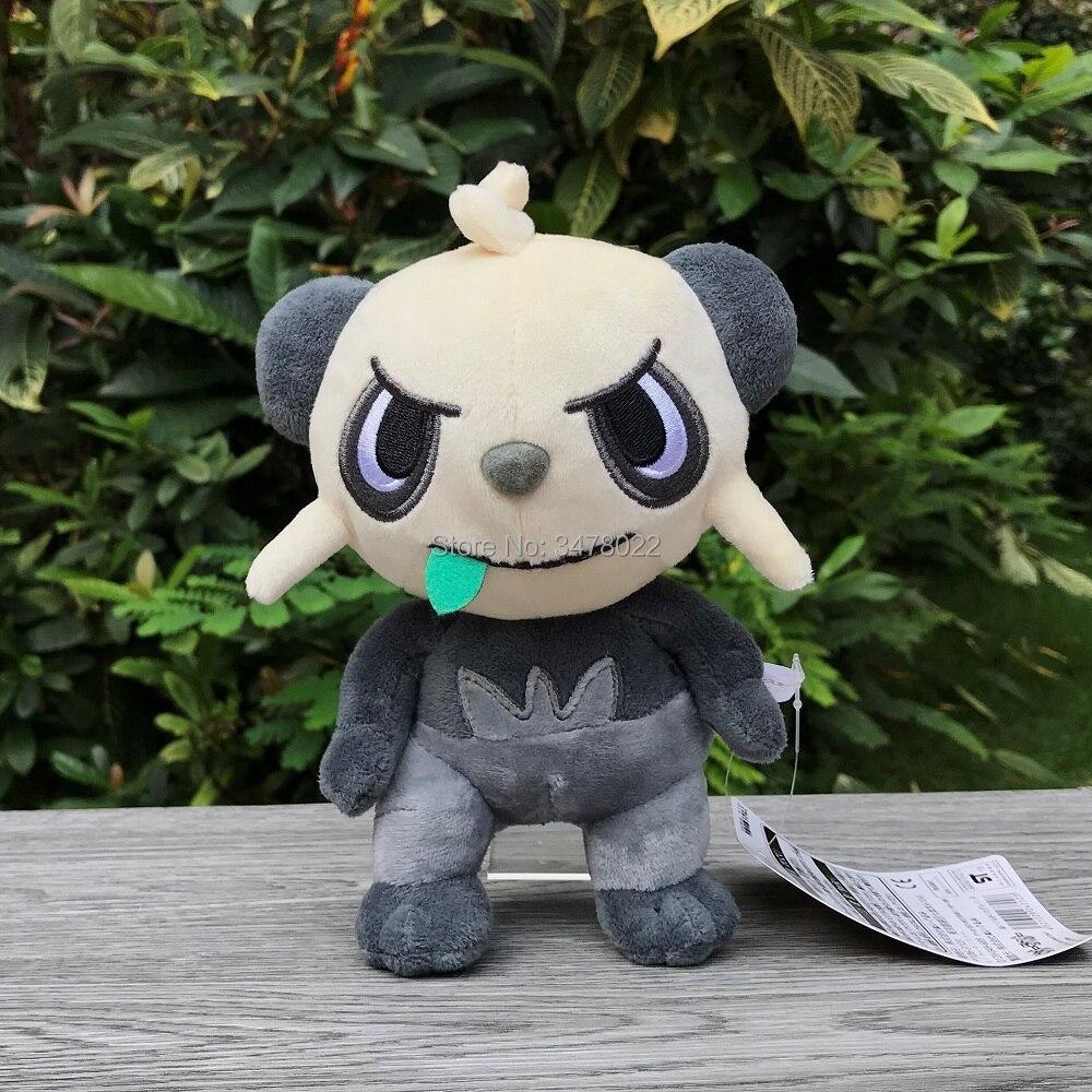 2 Styles Pangoro Pancham Plush Toy Cartoon Soft Panda Stuffed Toys Doll Kids Gift