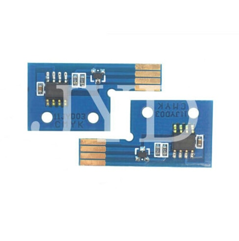 4PCS RESET TONER CHIP FOR Phaser 6125 106R01334~106R01331 printer printer parts