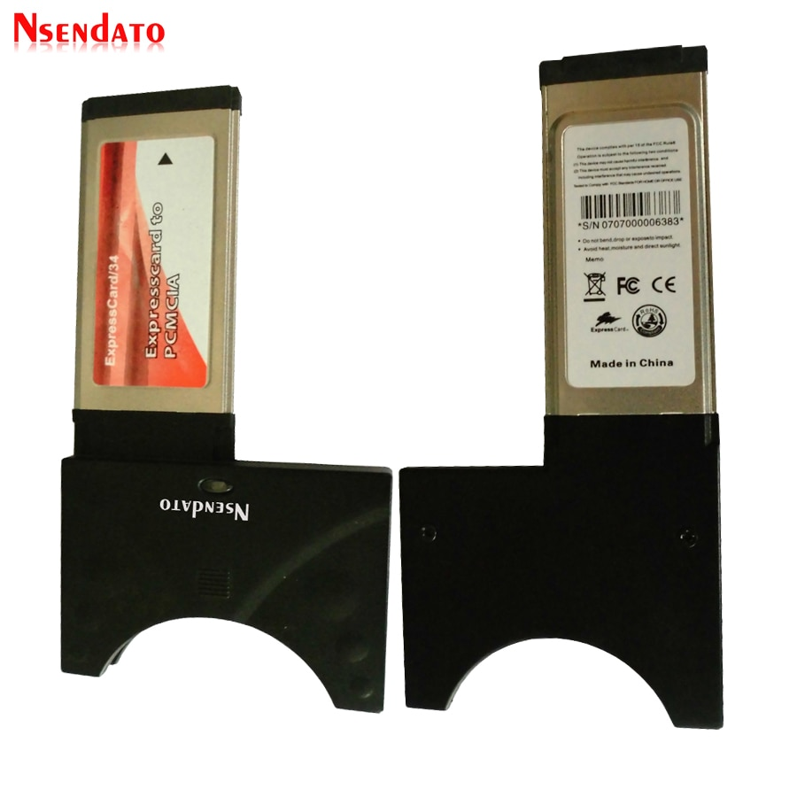 PCI Express ExpressCard 34 To Cardbus Adapter PCMCIA for PC Card 32bit 16bit Cardbus card Converter
