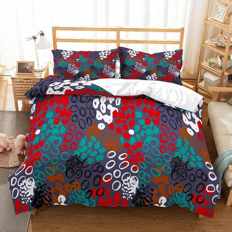 Yi chu xin 3d leotardo juego de ropa de cama de lujo Animal patrón edredón juego de cama reina/doble tamaño 200 * edredón de cama 200