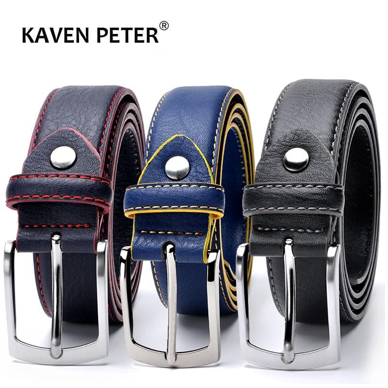 швейный ремень мужчины Италия дизайн досуг мужчины джинсы ремень мужчины роскошный дизайнер ремень мужчины высокое качество