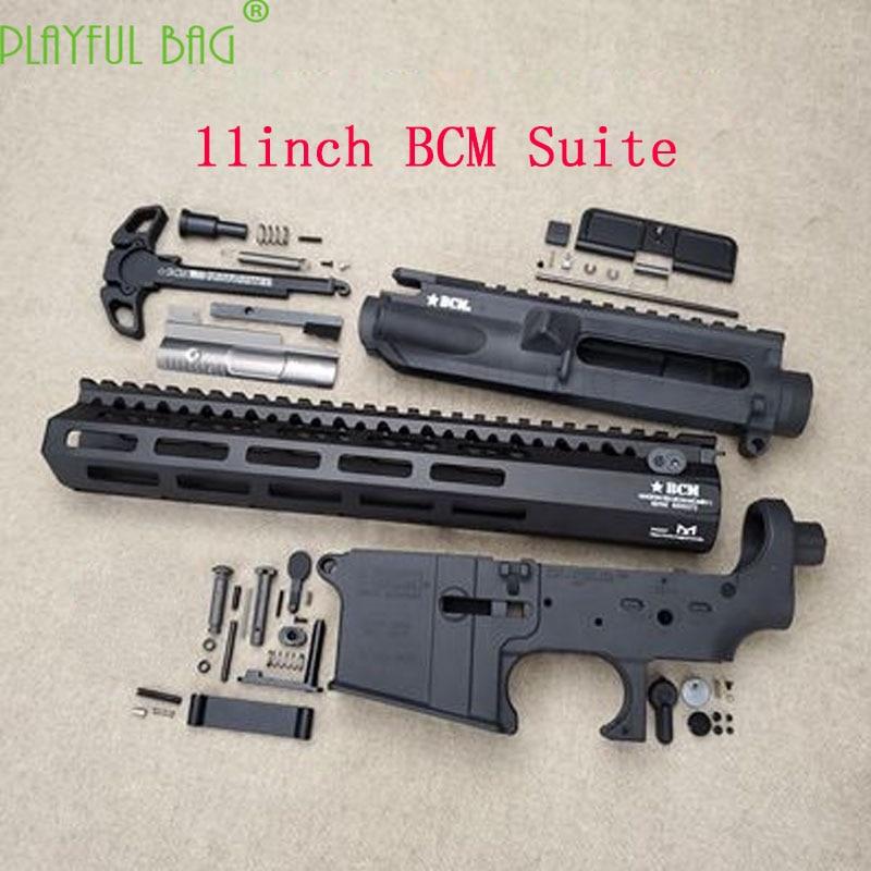Outdoor CS BCM Suite toy water bullet gun refit Nylon TTM Case BCM Engraved Fishbone Case Upgrade Material Accessories OJ46