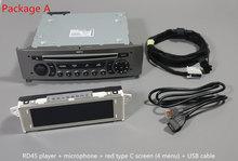 Lecteur Bluetooth musique AUX   Pour Peugeot 408 308SW 308 RD45CD, Bluetooth AUX, Bluetooth, affichage des noms des chansons du téléphone