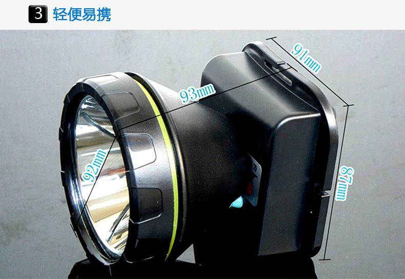 Livraison gratuite 20 Pcs/lot 30 W 18650 Rechargeable LED T6 6600 mAh LED étanche phare Rechargeable torche lumière YJM-8730 Via DHL
