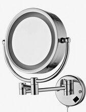 Miroir de salle de bains rond grossissant   Mural de 9