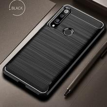 Pour Honor 20 lite MAR-LX1H housse en fiber de carbone antichoc étui de téléphone pour Huawei Honor 10i 10 i couverture Durable Flex pare-chocs