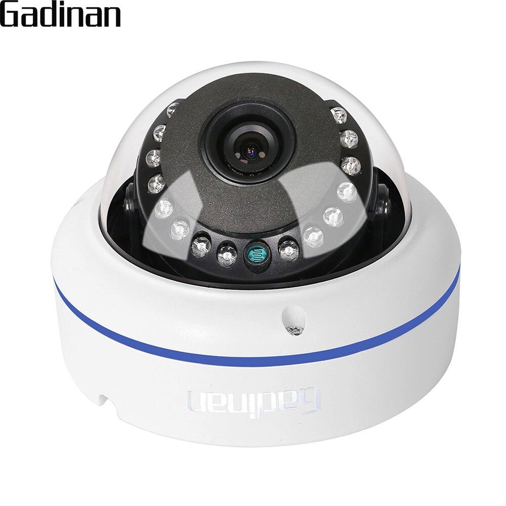 GADINAN AHD 1080P 2MP Metal Vandel-Prueba de domo de seguridad cámara de vigilancia CCTV resistente a la intemperie 2,8mm lente gran angular ir-cut