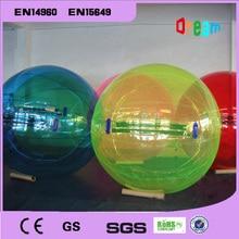 Envío gratis 2 m inflable Bola de agua para caminar Globos de agua Zorb Bola de caminar en bola de agua Bola de burbujas de agua