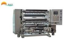 Machine de rebobinage de fente de film automatique à grande vitesse de 350 mètres/min