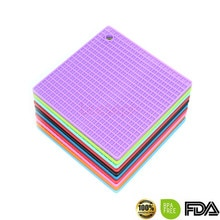 5Pcs 7-Inch Silicone Pannenlap, Trivet Mat, Jar Opener, Lepel Rest Antislip, flexibel, Duurzaam, Hittebestendige Hot Pads Dikkere