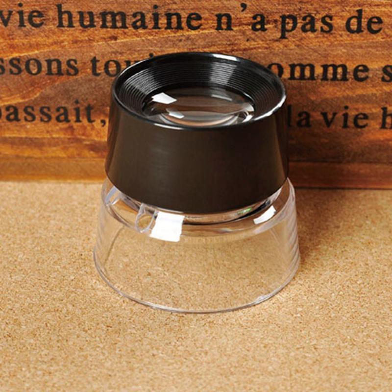 10X lupa microscopio para joyero lupa sello antiguo