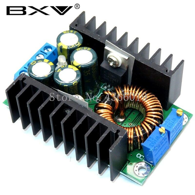 10 قطعة/الوحدة 300 واط XL4016 DC-DC ماكس 9A تنحى باك محول 5-40 فولت إلى 1.2-35 فولت قابل للتعديل وحدة امدادات الطاقة LED سائق
