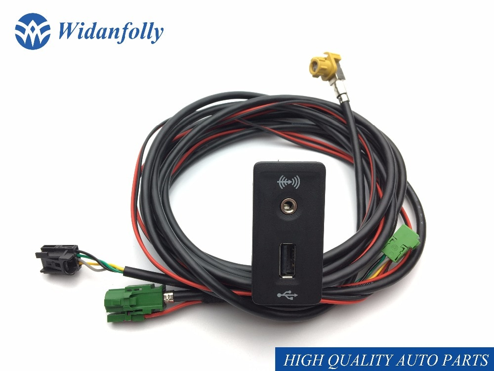 Widanfolly CarPlay MDI USB AMI установить Разъем жгут для гольфа 7 MK7 5G0 035 222 E 5G0035222E 5QD 035 726 E
