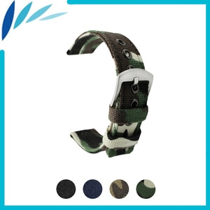 Nylon Nato Watch Band 18mm 20mm 22mm 24mm for Epos Men Women Canvas Fabric Strap Wrist Loop Belt Bracelet Black Blue Green +Tool