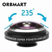 ORBMART Universal Clip 235 Degree Super Fish Eye Camera Fisheye Lens For Apple iPhone Samsung Xiaomi