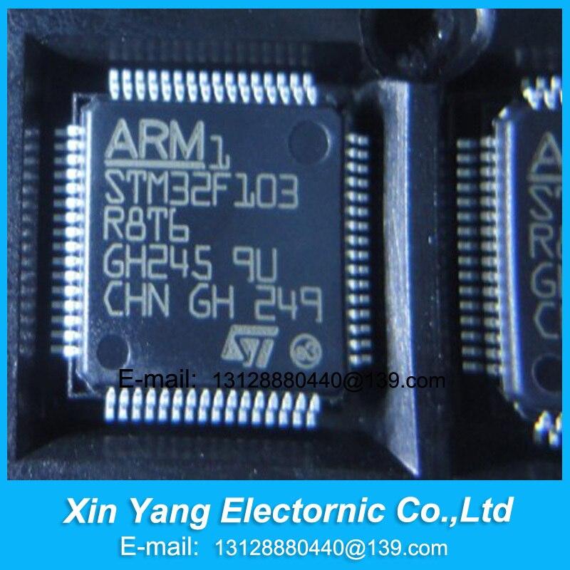 NEUE ORIGINAL STM32F103R8T6 STM32F103 STM32F103R8 QFP Kostenloser versand