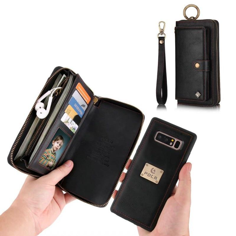 Funda de cuero para Samsung Galaxy Note 10 9 8 S10 + S10e S8 S9 S20 plus Ultra s7 edge coque