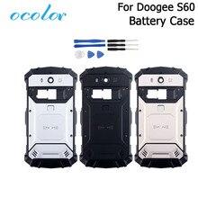 Ocolor Für Doogee S60 S60 Lite Batterie Fall Bunte Bateria Zurück Fall Abdeckung Fit Ersatz Für Doogee S60 Handy + werkzeuge