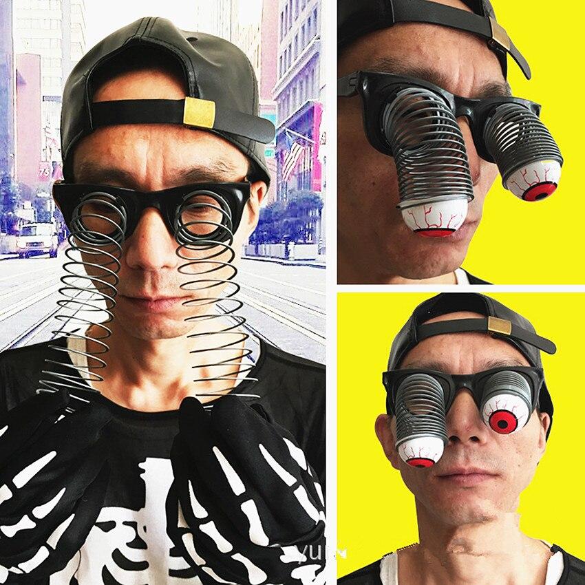 Ojos gafas juguete Pop Out Eye Drop Eyeball Gags juguete divertido Horror Terror Fiesta de miedo broma juguete