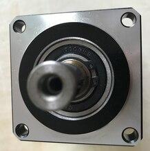 Planetary gearbox reducer 12 arcmin rapporto di 15:1 a 100:1 per nema34 750W AC servo motore albero di ingresso 16 millimetri