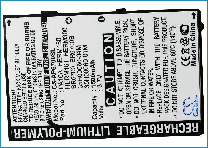 Batería de alta calidad Cameron Sino para UTStarcom 6700, PPC-6700, VX6700, para Vodafone v1605, VPA Compact III, PDA 1605 inalámbrica