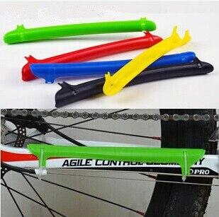 Carretera de montaña bicicleta cadena permanecer informado Protector bicicleta cadena guardia cubierta ciclismo Accesorios