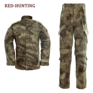 Новый мужской комплект, армейская Военная Тактическая карго-штаны, униформа mulitcam, камуфляжная Тактическая Военная форма bdu, американская ар...