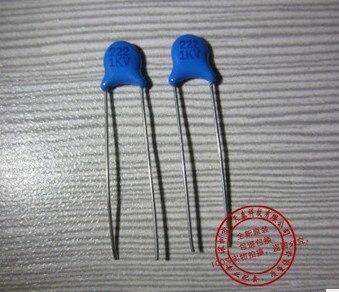 1000 Uds., capacitor cerámico HV de alta tensión 1KV 1000V 2.2nF 222