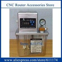Pompe de lubrification entièrement automatique 2L   Pompe à huile 220v, pompe à graisse lubrifiée pour machine à 3
