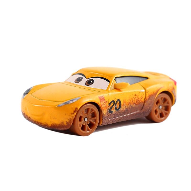 Disney Pixar voitures 2 3 jouets foudre McQueen Jackson tempête Mack oncle camion 155 moulé sous pression modèle voiture jouet enfants cadeau jouets