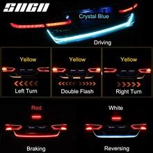 SNCN Trunk Strip Light LED Car Dynamic Streamer Tail Lights For Mitsubishi ASX Outlander Cross Sport Eclipse Mirage G4 Pajero